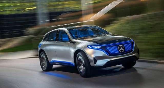 مرسيدس تقتحم عالم السيارات الكهربائية