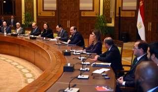 السيسى يستقبل الوفد الاستثماري المشارك في أعمال مؤتمر الاستثمار الثالث لمنطقة الشرق الأوسط وشمال أفريقيا
