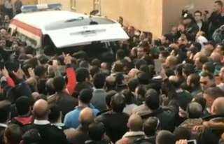 بث مباشر ..تشييع جنازة شهداء حادث الدرب الأحمر الإرهابي