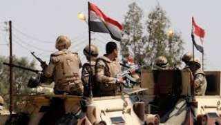 المتحدث العسكري: مقتل 8 عناصر إرهابية شديدة الخطورة بشمال سيناء