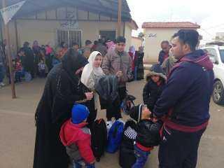 بالفيديو والصور.. 13 ألف مواطن سوري عادوا من مخيمات اللجوء في الأردن