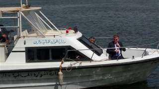 بالصور ..سفير الاتحاد الأوروبي يستقل القارب النيلي في احتفالية يوم المياه