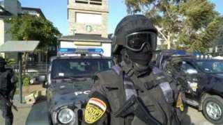 شاهد .. استنفار القوات الأمنية لتأمين استفتاء التعديلات الدستورية