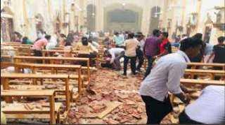شاهد.. لحظة تفجير كنيسة سان أنتوني في سريلانكا