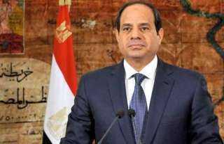 السيسي: الشعب الليبي تعرض لاستنزاف مقدراته ونطالب المجتمع الدولي بتحمل مسئولياته