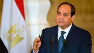 السيسي: الشعب أبهر العالم باصطفافه الوطني ووعيه بالتحدياتالتى تواجه مصر