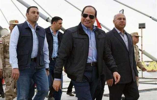 السيسي يفتتح كوبري تحيا مصر الملجم الأعرض في العالم