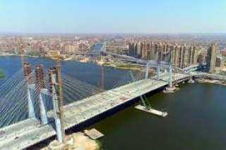 غينيس : رسميا مصر تمتلك أعرض جسر معلق في العالم