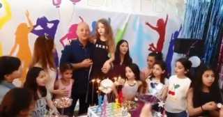 بالفيديو.. نانسي عجرم تحتفل بعيد ميلاد ابنتها ميلا