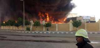 السيطرة على حريق نشب بـ15 عشة بشارع السودان في الدقي