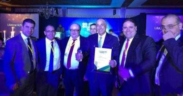 طارق عامر يتسلم جائزة أفضل محافظ بنك مركزي في أفريقيا