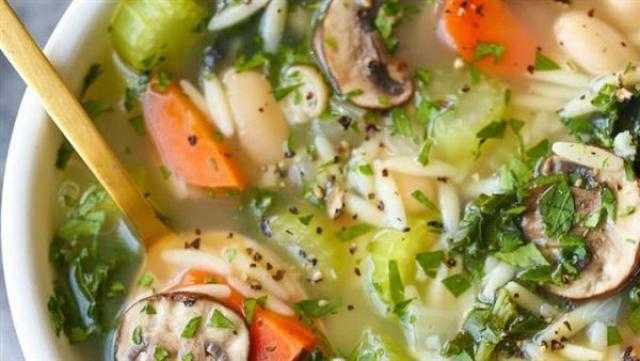 طريقة تحضير حساء الديتوكس لحرق الدهون