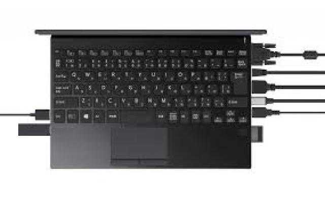 شركة فايو تعلن عن حاسب محمول صغير مليء بالمنافذ