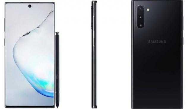 تسريبات: الصور الرسمية لهاتف سامسونج Galaxy Note 10