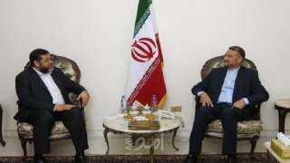 وفد عن حماس يلتقي مسؤولا إيرانيا رفيع المستوى في بيروت
