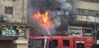 السيطرة على حريق نشب فى شقة سكنية بعين شمس