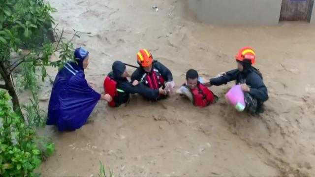 ارتفاع عدد قتلى إعصار في شرق الصين إلى 28 شخصا