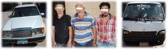 ضبط ثلاث عناصر إجرامية بحوزتهم سيارة مُبلغ بسرقتها في التبين