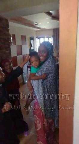 الحماية المدنية بالقاهرة تُنقذ طفلا عالقا داخل شقة
