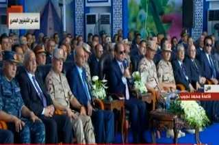 بالفيديو.. كلمة الرئيس السيسي خلال افتتاح 1300 صوبة زراعية على مساحة 10 ألاف فدان