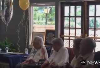 بالفيديو.. ست نساء من مدينة واحدة يحتفلن بتجاوز أعمارهن الـ100 عام