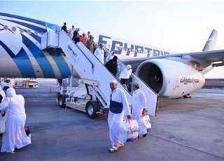 اليوم.. عودة 573 من حجاج الجمعيات من مطار المدينة المنورة