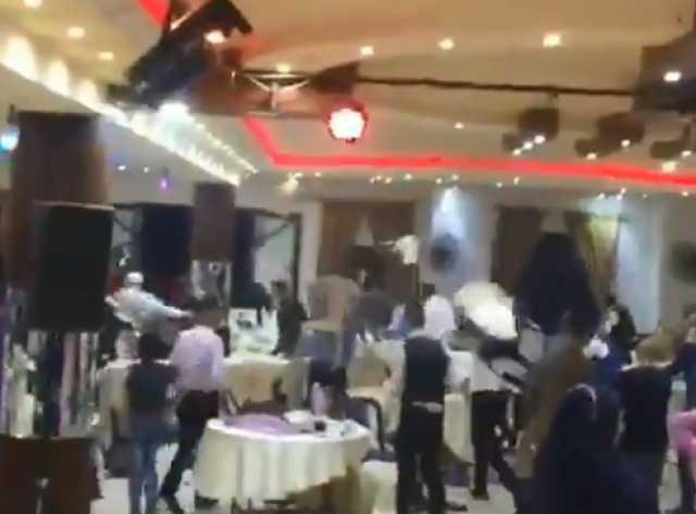 بالفيديو...زفاف يتحول إلى إشكال كبير بسبب رقصة