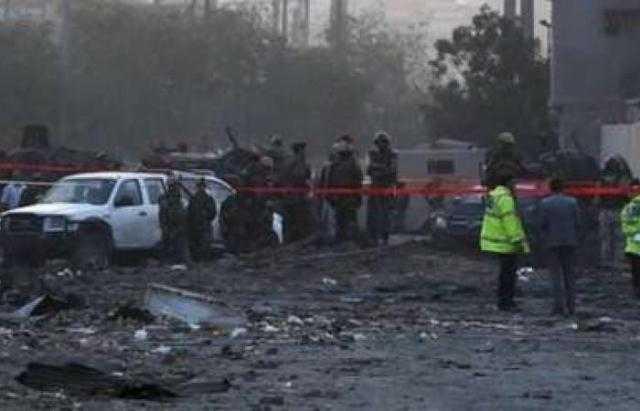 ندوي انفجار قرب السفارة الأمريكية في العاصمة الأفغانية كابول