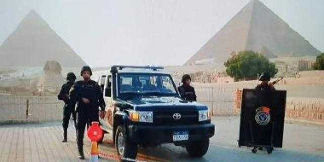 ضبط 16 مشتبها بهم بالمنطقة الأثرية فى الهرم