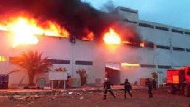 السيطرة على حريق نشب بمخازن مجلس مدينة ميت غمر