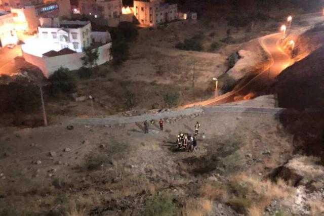 محاولة انتحار فاشلة لشاب سعودي من جسر