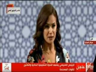 بالفيديو.. الفنانة هند صبري: الممر كان تاريخ عبرت به مصر من لحظات الإنسكار للانتصار