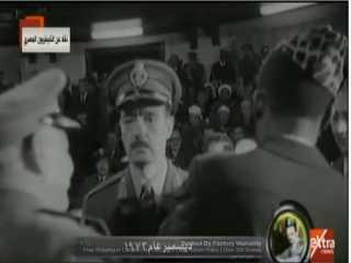 بالفيديو.. الرئيس السيسى يشاهد فيلما تسجيليا عن مسيرة عطاء وتاريخ المشير محمد الجمسى