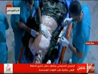 بالفيديو.. استعراض بعض المهارات الطبية لطلبة كلية طب القوات المسلحة في التعامل مع الإصابات المختلفة
