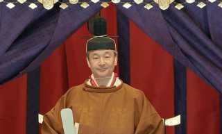 شاهد... إمبراطور اليابان الجديد يعتلي العرش