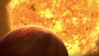 """شاهد الشمس تلتهم الأرض """"مشوية"""" للنهاية الحتمية"""