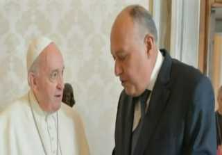 بالفيديو.. شكري يؤكد تقدير مصر للعلاقات مع الفاتيكان