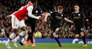 أهداف مباراة مانشستر ستي وأرسنال 3-0 في الدوري الإنجليزي