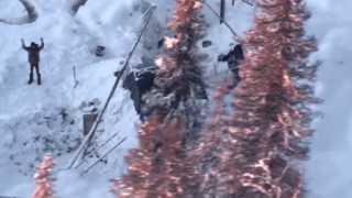 بالفيديو.. إنقاذ أمريكي بعد بقاءه 23 يوما في البرد القارس بمنطقة نائية