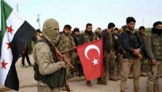 مرتزقة أردوغان يحتفلون بتقاضيهم أول راتب لهم بالدولار في طرابلس (فيديو)