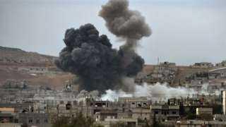 """بالفيديو.. الجيش السوري يحول رتل دبابات تركية في إدلب لـ""""كتلة نار"""""""