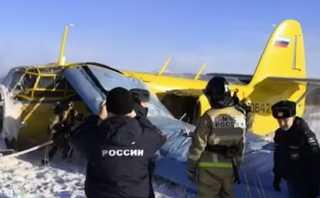 فيديو.. إصابة 7 أشخاص في هبوط اضطراري لطائرة خاصة