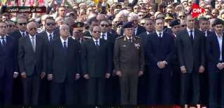 بالفيديو.. الجنازة العسكرية للرئيس الراحل مبارك