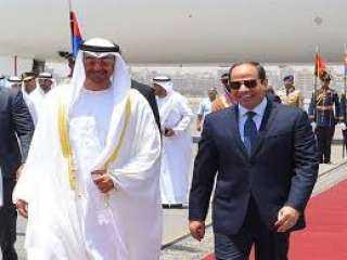 السيسي وولي عهد أبو ظبي يبحثان هاتفيا جهود مكافحة كورونا