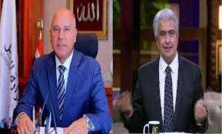 شاهد.. خناقة وزير النقل مع وائل الابراشى