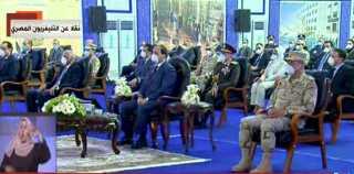 بث مباشر.. الرئيس السيسى يفقد عناصر القوات المسلحة المخصصة لمكافحة كورونا