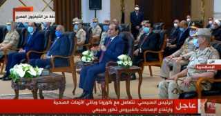 بالفيديو.. السيسي عن الجدال حول تكليف الأطباء: من فضلكم ده وقت تخلوا بالكم من بلدكم مصر