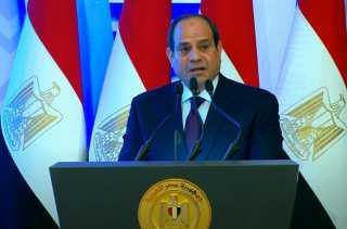 بالفيديو.. كلمة الرئيس السيسى خلال افتتاح عدد من المشروعات القومية الجديدة