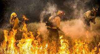 حرائق واسعة في أنحاء ولاية يوتا الأمريكية(فيديو)