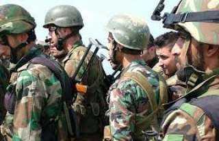 فيديو يوثق لحظة هروب مشاة الجيش الأمريكي من مواجهة جنود سوريين